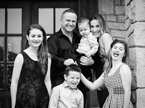 Egreis Gjergjani Family Portrait