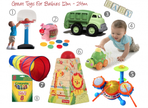Fun Toys & Activities For Babies 12-24 months old